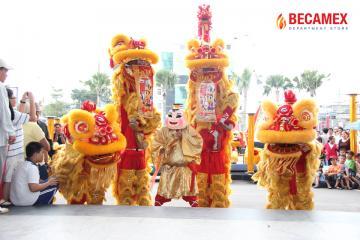 TTTM Becamex mừng xuân Nhâm Thìn 2012
